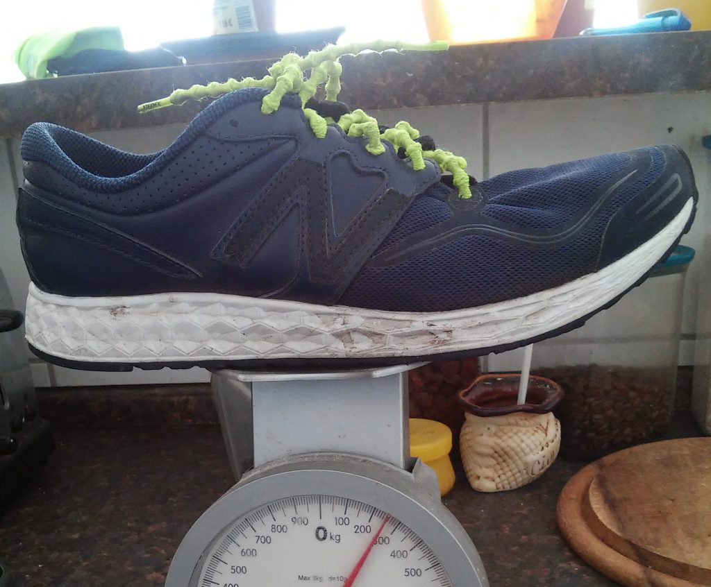 The New Balance Zante weigh in