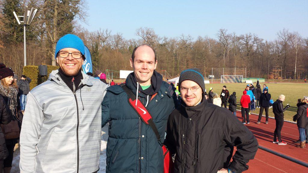 The team (minus Torsten)