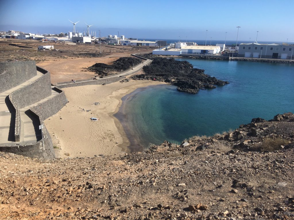 another Lanzarote beach